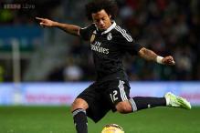 Real Madrid's Marcelo recalled for Brazil friendlies