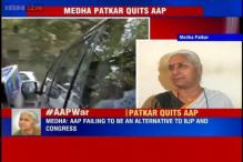 Social activist Medha Patkar resigns from AAP, calls sacking of Yadav, Bhushan unfortunate