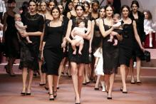 Dolce&Gabbana pay sentimental tribute to mothers in Milan