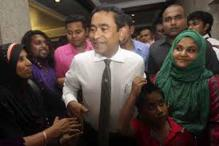 Maldives President addresses Parliament amid opposition protests