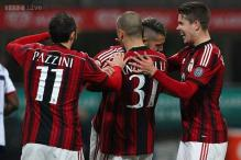 AC Milan beat Cagliari 3-1 for 1st win in four Serie A matches