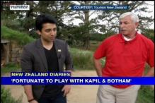 NZ Tour Diary: Fortunate to play with Kapil Dev & Ian Botham, says Richard Hadlee