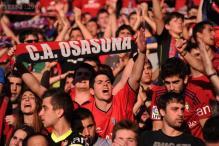 Three former directors of Spanish club Osasuna arrested