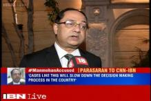 No need to file criminal case against Manmohan Singh in coal scam: Mohan Parasaran