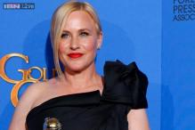 Oscar winner Patricia Arquette has a wardrobe malfunction
