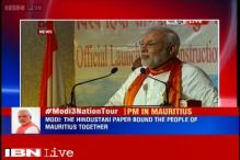 Mahatma Gandhi's views influenced Mauritius says PM Modi