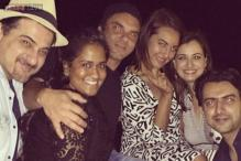 Photo of the day: Sonakshi Sinha spends a 'lovely evening' with Arpita Khan, Dia Mirza, Sohail Khan