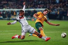 Lukas Podolski spares German blushes against Australia