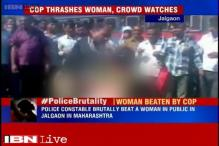 Maharashtra: Woman accused of theft thrashed by police officer in Jalgaon