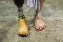 Robotic ankles will soon have 'eyes' to see where they are going