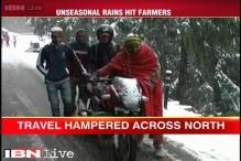 Heavy rains across north India cause damage to crops in several states