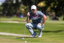 Rory McIlroy boils over, JB Holmes leads by two shots