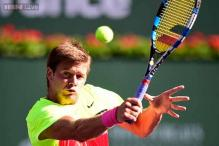 Ryan Harrison outlasts Mardy Fish at BNP Paribas Open