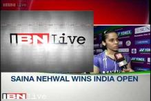 Double surprise for me, says Saina Nehwal