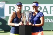 Sania Mirza-Martina Hingis win BNP Paribas Open title