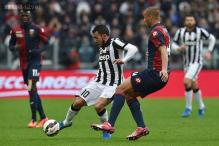 Juventus down Genoa to maintain 14-point lead in Serie A