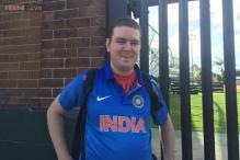 Shane Collins - an Aussie who took loan to support India at World Cup