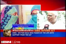Kapil Sibal welcomes Supreme Court's judgement on Section 66A