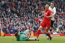 Liverpool defender Skrtel charged with violent conduct