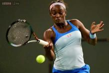 Sloane Stephens advances to 2nd round of BNP Paribas Open