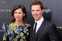 Benedict Cumberbatch's wife Sophie Hunter shares first photo of wedding gown