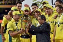 Srinivasan hands over World Cup trophy to Australia, Mustafa Kamal sidelined