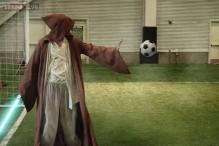 Gandalf, Iron Man, Superman and many more; this is a soccer match worth watching