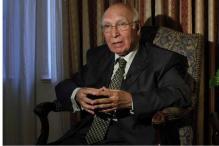 India's reaction to Pakistan court ruling on 26/11 attack mastermind Lakhvi 'irrational: Sartaj Aziz