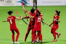 Thailand win 3-1 against Ghana in Women's HWL Round 2