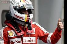 Sebastian Vettel looking back to his best with Ferrari