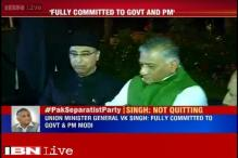 VK Singh forced to clarify his stand, says fully committed to government