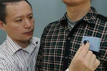 A new wearable device that helps visually impaired avoid collision
