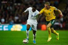 Depleted England lose Danny Welbeck for Italy game