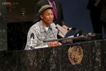 We only have one home: Pharrell Williams urges action on climate change