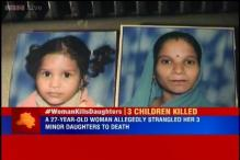 Delhi: Woman strangles her 3 daughters, attempts suicide
