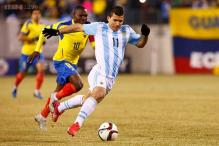 Argentina beat Ecuador 2-1 in friendly match