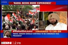Sonia alone can lead Congress, says Capt Amarinder Singh; asks Rahul to gain experience