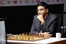 Shamkir Chess: Viswanathan Anand beats Michael Adams, jumps to 2nd spot in world rankings