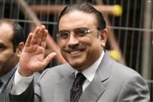 Pakistan's former president Zardari plans to launch daughter into politics
