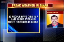 Heavy storm kills 32 people, injures over 80 in three Bihar districts