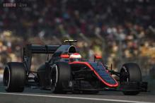 Jenson Button handed time penalty for Pastor Maldonado collision