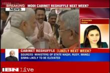 Cabinet reshuffle likely soon, 3 Ministers of State may be elevated: sources