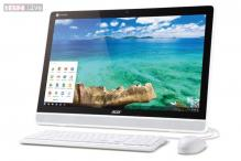Acer launches new all-in-one touchscreen Chromebase desktop