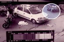 Watch: Female car driver crushes man to death in Delhi's Subhash Nagar