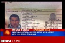 Peruvian national was arrested at Delhi Airport with cocaine worth Rs 6.5 crores
