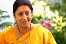 Smriti Irani asks women to be Lord Krishna on BJP's chariot
