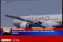 Mishap involving two Gulf aircraft over Indian skies averted
