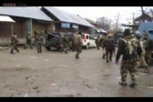 One J&K policeman killed, 3 security personnel injured in an encounter with terrorists in Baramulla
