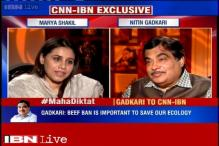 No problem with people eating fishes, goats but won't allow cow slaughter: Nitin Gadkari