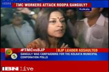 BJP leader and actor Roopa Ganguly allegedly manhandled by TMC workers in Kolkata